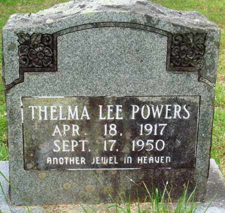 POWERS, THELMA LEE - Perry County, Arkansas | THELMA LEE POWERS - Arkansas Gravestone Photos