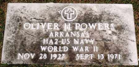 POWERS (VETERAN WWII), OLIVER H - Perry County, Arkansas | OLIVER H POWERS (VETERAN WWII) - Arkansas Gravestone Photos