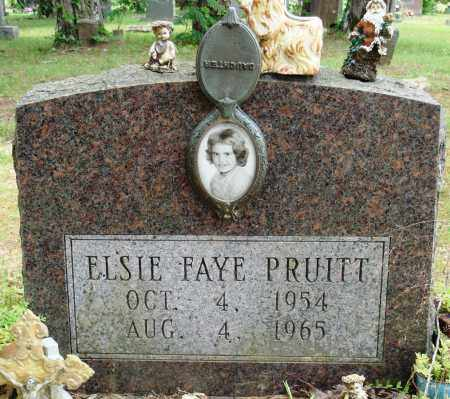 PRUITT, ELSIE FAYE - Perry County, Arkansas | ELSIE FAYE PRUITT - Arkansas Gravestone Photos