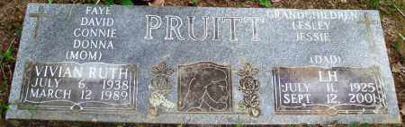 PRUITT, VIVIAN RUTH - Perry County, Arkansas | VIVIAN RUTH PRUITT - Arkansas Gravestone Photos