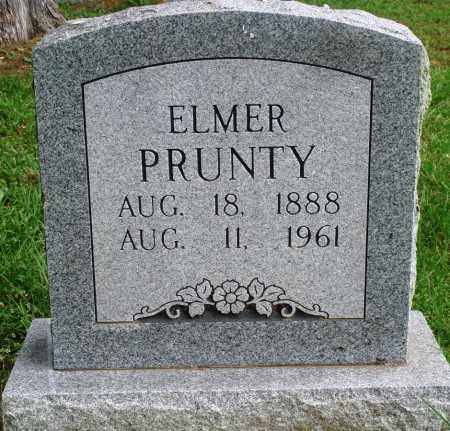 PRUNTY, ELMER - Perry County, Arkansas | ELMER PRUNTY - Arkansas Gravestone Photos