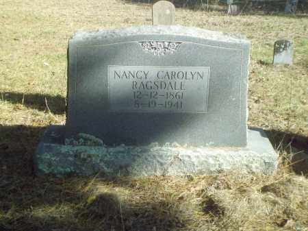 RAGSDALE, NANCY CAROLYN - Perry County, Arkansas | NANCY CAROLYN RAGSDALE - Arkansas Gravestone Photos