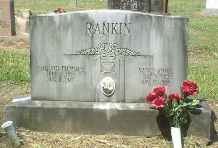 RANKIN, NANCY ANNIE - Perry County, Arkansas | NANCY ANNIE RANKIN - Arkansas Gravestone Photos