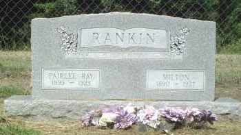 RANKIN, MILTON - Perry County, Arkansas | MILTON RANKIN - Arkansas Gravestone Photos