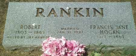 RANKIN, FRANCIS JANE - Perry County, Arkansas | FRANCIS JANE RANKIN - Arkansas Gravestone Photos