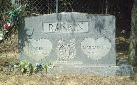 RANKIN, U. DEE - Perry County, Arkansas | U. DEE RANKIN - Arkansas Gravestone Photos