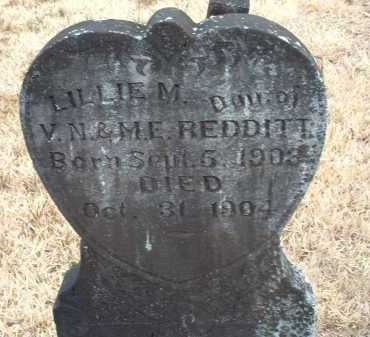 REDDITT, LILLIE MAGDALENE - Perry County, Arkansas | LILLIE MAGDALENE REDDITT - Arkansas Gravestone Photos