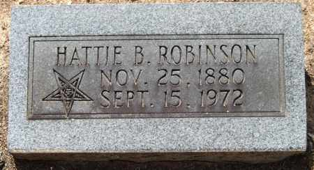 ROBINSON, HATTIE - Perry County, Arkansas | HATTIE ROBINSON - Arkansas Gravestone Photos