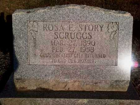 STORY SCRUGGS, ROSA E. - Perry County, Arkansas | ROSA E. STORY SCRUGGS - Arkansas Gravestone Photos