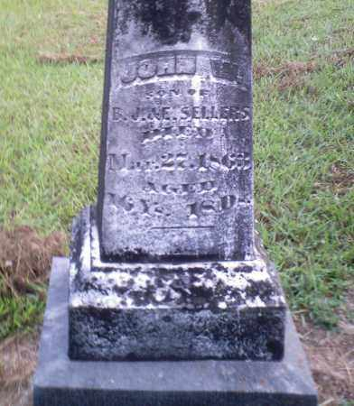 SELLERS, JOHN W. - Perry County, Arkansas | JOHN W. SELLERS - Arkansas Gravestone Photos