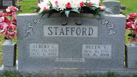 STAFFORD, ALBERT L - Perry County, Arkansas | ALBERT L STAFFORD - Arkansas Gravestone Photos