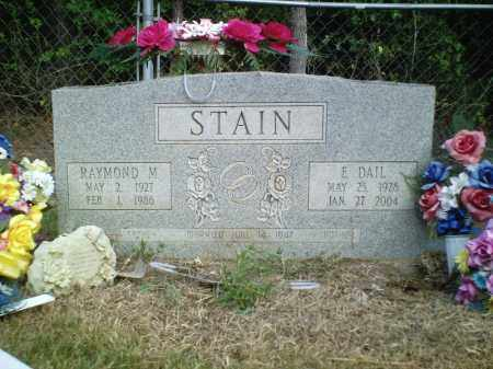 STAIN, RAYMOND M. - Perry County, Arkansas | RAYMOND M. STAIN - Arkansas Gravestone Photos