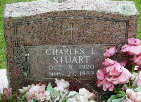 STUART, CHARLES L - Perry County, Arkansas | CHARLES L STUART - Arkansas Gravestone Photos