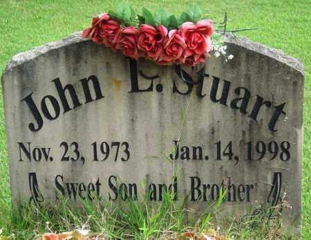 STUART, JOHN L - Perry County, Arkansas | JOHN L STUART - Arkansas Gravestone Photos