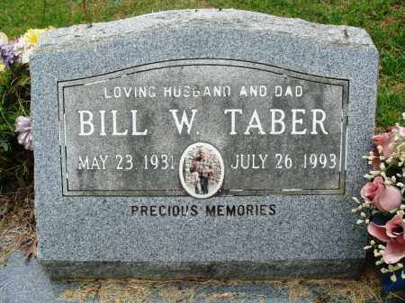 TABER, BILL W - Perry County, Arkansas | BILL W TABER - Arkansas Gravestone Photos
