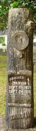 TARVIN, EDWARD A - Perry County, Arkansas | EDWARD A TARVIN - Arkansas Gravestone Photos