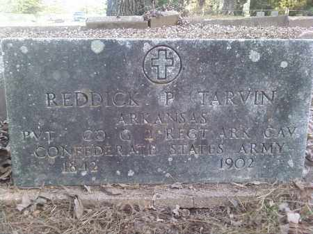 TARVIN  (VETERAN CSA), REDDICK P - Perry County, Arkansas | REDDICK P TARVIN  (VETERAN CSA) - Arkansas Gravestone Photos