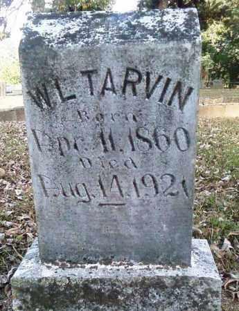 TARVIN, WILBURN LAFAYETTE - Perry County, Arkansas | WILBURN LAFAYETTE TARVIN - Arkansas Gravestone Photos