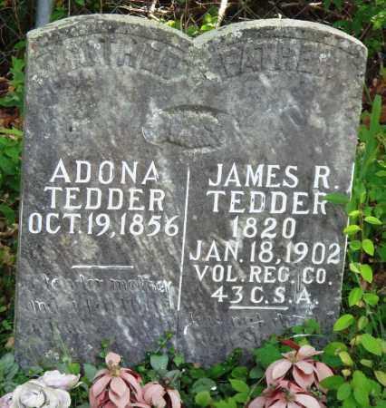 TEDDER, JAMES R - Perry County, Arkansas | JAMES R TEDDER - Arkansas Gravestone Photos