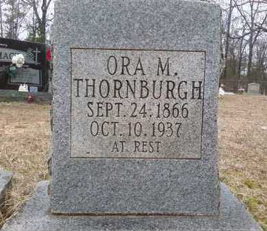 THORNBURG, ORA M. - Perry County, Arkansas | ORA M. THORNBURG - Arkansas Gravestone Photos