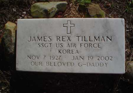 TILLMAN (VETERAN KOR), JAMES REX - Perry County, Arkansas | JAMES REX TILLMAN (VETERAN KOR) - Arkansas Gravestone Photos