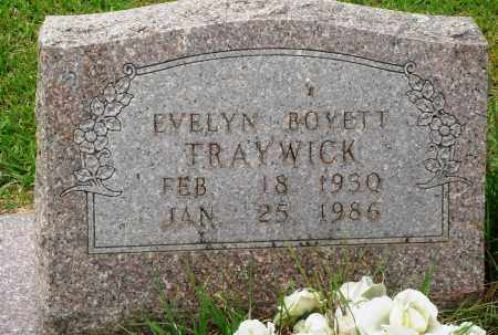 BOYETT TRAYWICK, EVELYN - Perry County, Arkansas | EVELYN BOYETT TRAYWICK - Arkansas Gravestone Photos