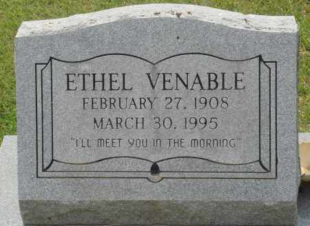 VENABLE, ETHEL - Perry County, Arkansas | ETHEL VENABLE - Arkansas Gravestone Photos