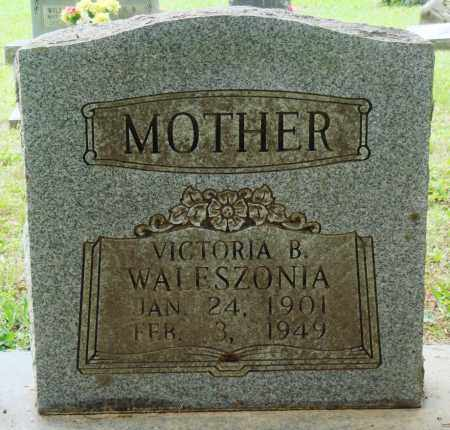 WALESZONIA, VICTORIA B - Perry County, Arkansas | VICTORIA B WALESZONIA - Arkansas Gravestone Photos