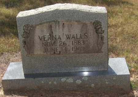 WALLS, VERNA - Perry County, Arkansas | VERNA WALLS - Arkansas Gravestone Photos