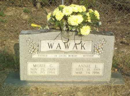 WAWAK, ANNIE L. - Perry County, Arkansas | ANNIE L. WAWAK - Arkansas Gravestone Photos