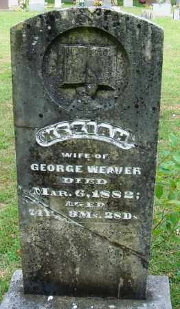 WEAVER, KEZIAH - Perry County, Arkansas | KEZIAH WEAVER - Arkansas Gravestone Photos