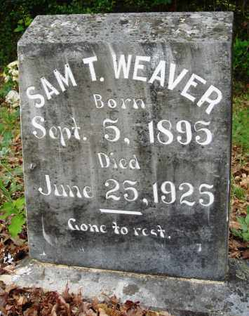 WEAVER, SAM T - Perry County, Arkansas | SAM T WEAVER - Arkansas Gravestone Photos
