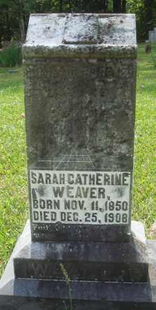WEAVER, SARAH CATHERINE - Perry County, Arkansas | SARAH CATHERINE WEAVER - Arkansas Gravestone Photos