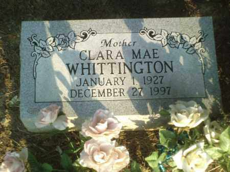 WHITTINGTON, CLARA MAE - Perry County, Arkansas | CLARA MAE WHITTINGTON - Arkansas Gravestone Photos
