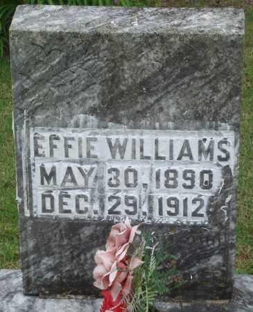 WILLIAMS, EFFIE - Perry County, Arkansas | EFFIE WILLIAMS - Arkansas Gravestone Photos