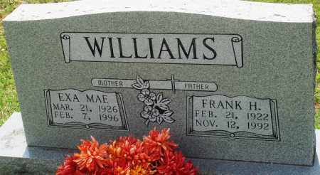 WILLIAMS, FRANK H - Perry County, Arkansas | FRANK H WILLIAMS - Arkansas Gravestone Photos