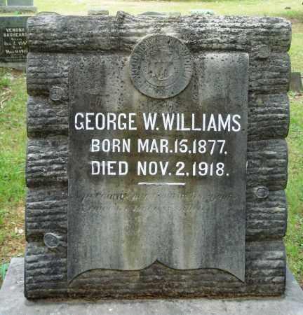 WILLIAMS, GEORGE W - Perry County, Arkansas | GEORGE W WILLIAMS - Arkansas Gravestone Photos