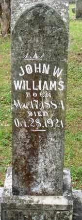 WILLIAMS, JOHN W - Perry County, Arkansas | JOHN W WILLIAMS - Arkansas Gravestone Photos