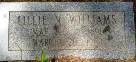 WILLIAMS, LILLIE N - Perry County, Arkansas | LILLIE N WILLIAMS - Arkansas Gravestone Photos