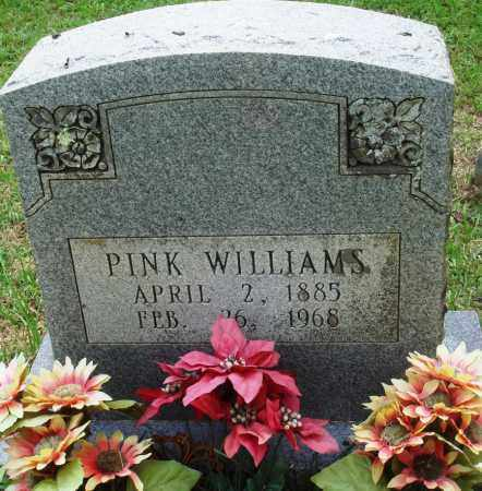 WILLIAMS, PINK - Perry County, Arkansas | PINK WILLIAMS - Arkansas Gravestone Photos