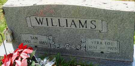 WILLIAMS, SAM - Perry County, Arkansas | SAM WILLIAMS - Arkansas Gravestone Photos