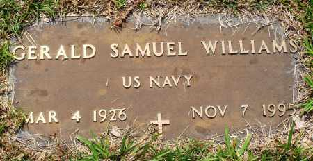 WILLIAMS (VETERAN), GERALD SAMUEL - Perry County, Arkansas | GERALD SAMUEL WILLIAMS (VETERAN) - Arkansas Gravestone Photos