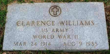 WILLIAMS (VETERAN WWII), CLARENCE - Perry County, Arkansas | CLARENCE WILLIAMS (VETERAN WWII) - Arkansas Gravestone Photos