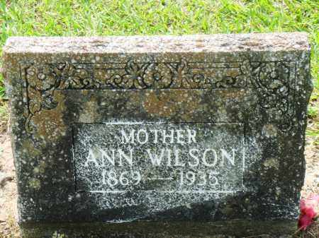 WILSON, ANN - Perry County, Arkansas | ANN WILSON - Arkansas Gravestone Photos