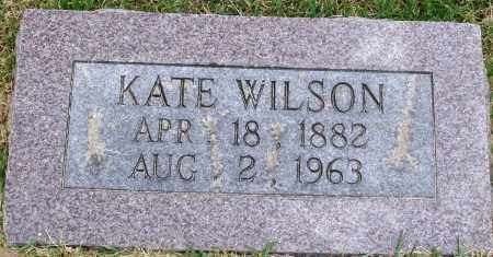 WILSON, KATE - Perry County, Arkansas | KATE WILSON - Arkansas Gravestone Photos