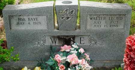 WISE, WALTER LLOYD - Perry County, Arkansas   WALTER LLOYD WISE - Arkansas Gravestone Photos
