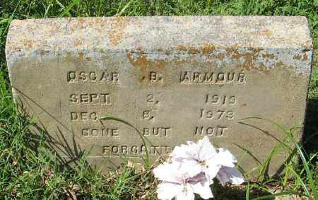 ARMOUR, OSCAR B. - Phillips County, Arkansas | OSCAR B. ARMOUR - Arkansas Gravestone Photos