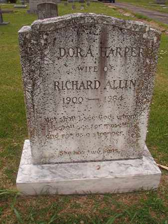HARPER ALLIN, DORA - Phillips County, Arkansas | DORA HARPER ALLIN - Arkansas Gravestone Photos