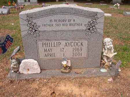 AYCOCK, PHILLIP - Phillips County, Arkansas | PHILLIP AYCOCK - Arkansas Gravestone Photos