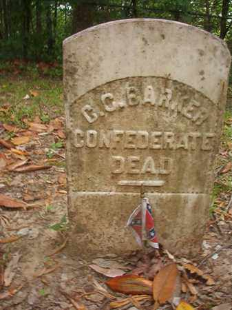 BARKER (VETERAN CSA), C C - Phillips County, Arkansas | C C BARKER (VETERAN CSA) - Arkansas Gravestone Photos